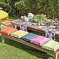 H.O.C.K. Matratzenkissen Outdoor Classic uni von H.O.C.K. auf Gartenmöbel von Du und Dein Garten