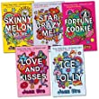 Jean Ure Pack, 5 books, RRP £29.95 (Fortune Cookie; Ice Lolly; Love and Kisses; Skinny Melon and Me; Star Crazy Me).