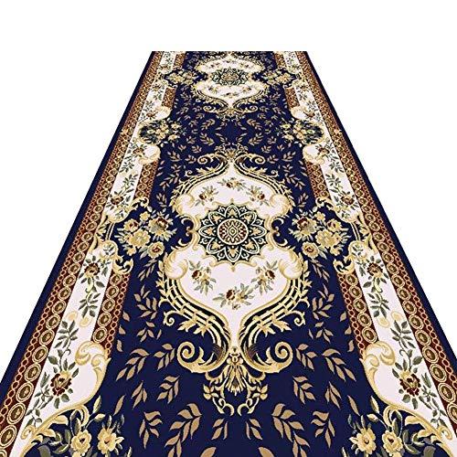 Tapis Coureur Pour Couloir Entrée Tapis Tapis De Cuisine Polyester Personnalité Créative Non-slip Slip Durable Moderne, Couloir Tapis Allée JINRONG (Color : A, Size : 1.2 * 4m)