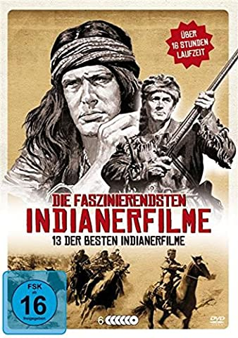 Die faszinierendsten Indianerfilme - 13 der besten Indianerfilme [6 DVDs]