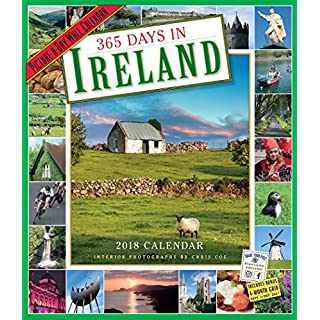 365Tage in Irland picture-a-day Kalender 2018[30,5x 35,6cm]