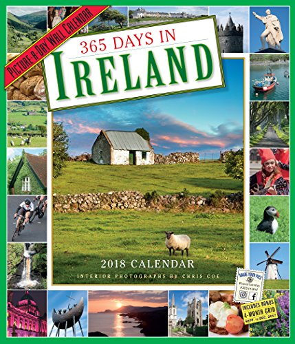 365 Tage in Irland picture-a-day Kalender 2018 [30,5 x 35,6 cm]