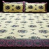 Kalaplanet Jaipuri Cotton Double Bed She...