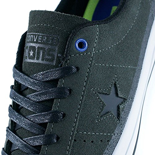 Converse Cons One Star Pro Suede OX, cast iron-black-white cast iron-black-white