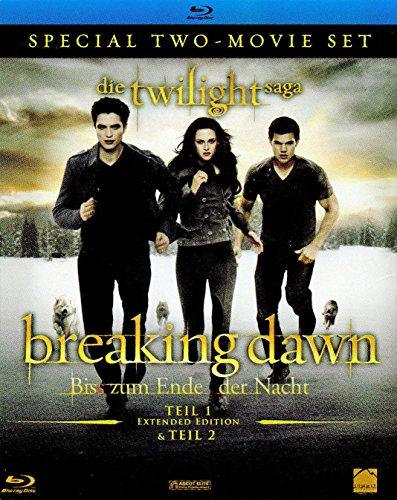 Breaking Dawn - Biss zum Ende der Nacht, Teil 1 + 2 (limit. Blu-Ray-Set) -