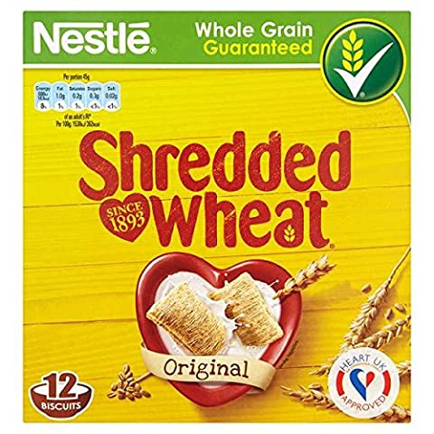 Shredded Wheat originales 12 Biscuits (Pack de 8 x 12s)
