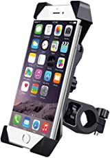 DKP Bike Mobile Holder Mount Bracket with Adjustable Size and 360 Degree Rotate for Motorcycle (Bike-Holder)