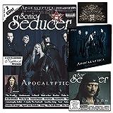 Apocalyptica: Sonic Seducer 04-2015 mit Apocalyptica-Titelstory + 2 CDs, darunter eine exkl. EP zum Album Shadowmaker von Apocalyptica + exkl. Sticker von Nightwish, Bands: The Prodigy, Eisbrecher u.v.m. (Audio CD)