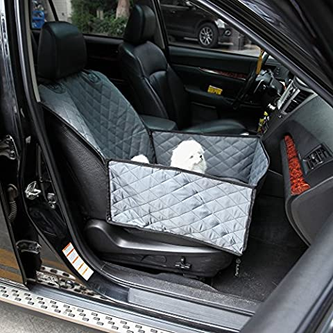 Bucket Seat Cover for Dogs by OverDose (145*53cm approx., Gray)