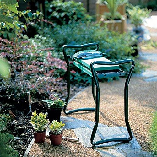 Ohuh® Garden Kneeler, Kniebank für Gartenarbeit, mit Gratis-Tool-Kit (Garden Kneeler)