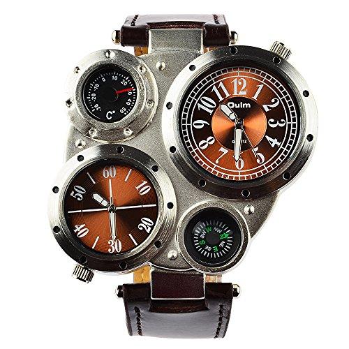 relojes-de-pulsera-wolfbush-oulm-multi-zonas-horarias-gran-tamao-militares-cuero-hombres-reloj-pulse