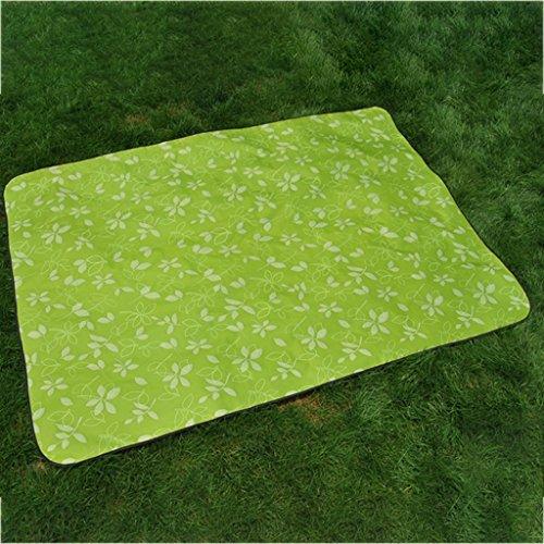 wysm Tappetino di picnic 200 * 150cm piuma d'umidità più spessa piattaforma esterna picnic outdoor picnic outdoor portatile portatile esterno ( Colore : XY02 ) XY03