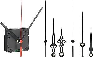 St. Leonhard Funkuhrwerk: Funk-Uhrwerk mit 3 Zeigersets für selbstgestaltete Uhren (Uhrwerk Wanduhr)