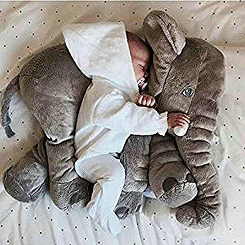 Elephant Bambola Cuscino Protezione Ambientale Peluche Giocattoli Lombare Del Cuscino Per Il Bambino Scherza Cuscino Giocattolo Del Morbido Peluche Per La Decorazione Regali Per Bambini
