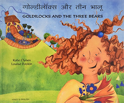 Goldilocks and the Three Bears in Hindi and English Cover Image