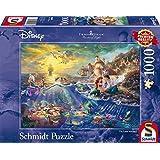 Schmidt Spiele - 59479 - Disney Arielle La Petite Sirène - 1000 Pièces