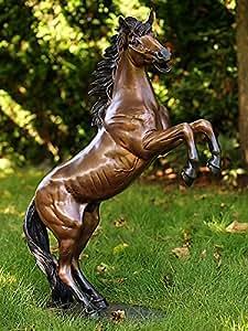 Pferd klein, aufbäumend aus Bronze