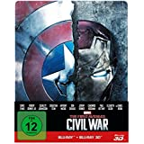 The first Avenger - Civil War  3D: 3D+2D, Steelbook Edition