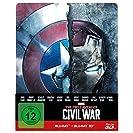 The first Avenger - Civil War  3D: 3D+2D, Steelbook Edition