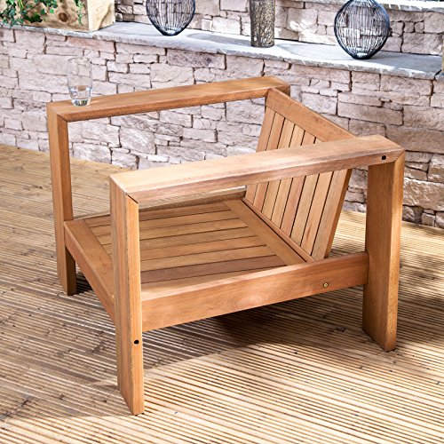 Alfresia Linea Low Wooden Garden Chair