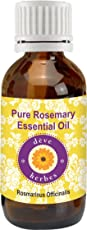 Deve Herbes Pure Rosemary Essential Oil - Rosmarinus Officinalis, 30ml