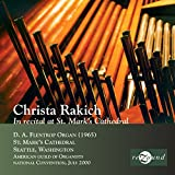 Christa Rakich in Recital at S
