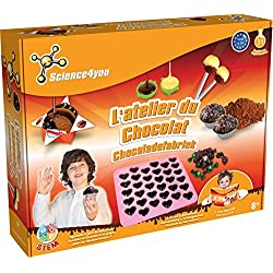 Science4You - SY611207 - Maxi Kit Scientifique - Labo Chocolat