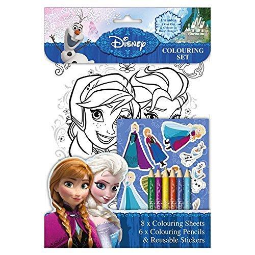 Disney Princess: Eiskönigin Malset (Ausmalen Seiten, Stifte, Aufkleber)