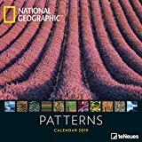 2019 Nat Geog Patterns Grid Calendar