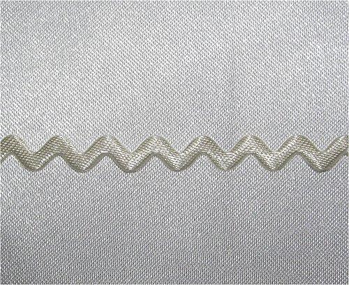 Elfenbein Designer 4mm RIC RAC Satin Geflecht trimmen -