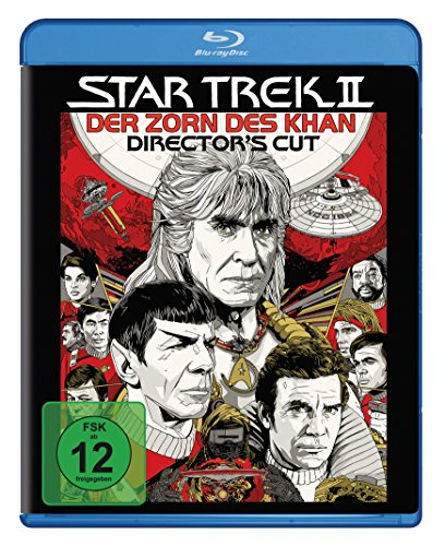 Star Trek 2 - Der Zorn des Khan [Blu-ray] [Director's Cut] hier kaufen