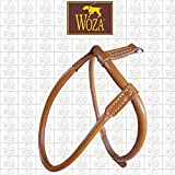 Woza Premium Chow-Chow Geschirr GRÖßE 80 Vollleder Rindleder Handmade Harness