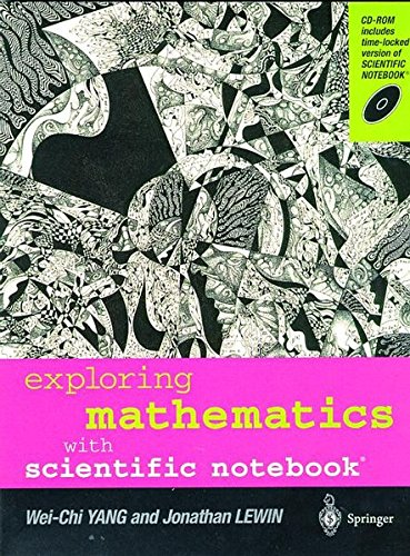 Exploring Mathematics with Scientific Notebook par -