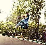 Ultrasport Trampolin Jumper, Grün, 430 cm - 4