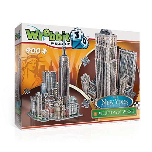 Wrebbit W3D-2010 - Puzzle 3D Midtown West, 900 Pezzi