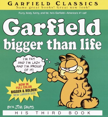 Garfield, Bigger Than Life by Jim Davis (February 01,2002)
