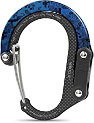 HEROCLIP Carabiner Clip With Swivel Hook (Small) - Hang Anything, Anywhere