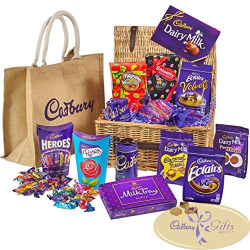 Cadbury Chocolate & Sweets Basket