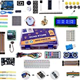 Quad Store(TM) - Super Starter Kit for Arduino Uno R3 (Beginner's Kit)