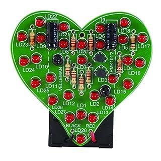 VELLEMAN - MK101 FLASHING LED SWEETHEARTS 840010