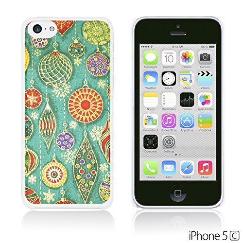 OBiDi - National Pattern Hardback Case / Housse pour Apple iPhone 5C - Colorful Elephant ArtWork Cute Earrings Illustration