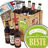 Du bist der Beste ♥ Bierpaket mit Bieren aus Ostdeutschland |