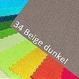 OXFORD 600D Farbe 34| DUNKEL BEIGE Polyester Stoff 1 lfm