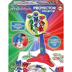 PJ Masks Proyector dibuja y colorea 43.2 x 30.0 x 5.8 Educa Borrás 17416