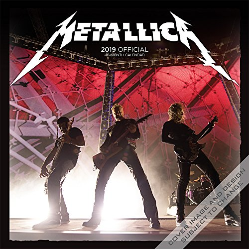 Metallica 2019 - 18-Monatskalender: Original BrownTrout-Kalender por Inc Browntrout Publishers