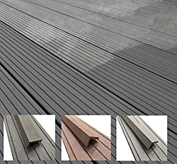 Composite Decking | Black | Choose from 3 Colours & 11 Sizes | Sample Piece | Choose from 3 Colours & 11 Sizes | for Gardens & Patios
