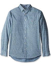 GANT Men's Slim Oxford Plaid Shirt