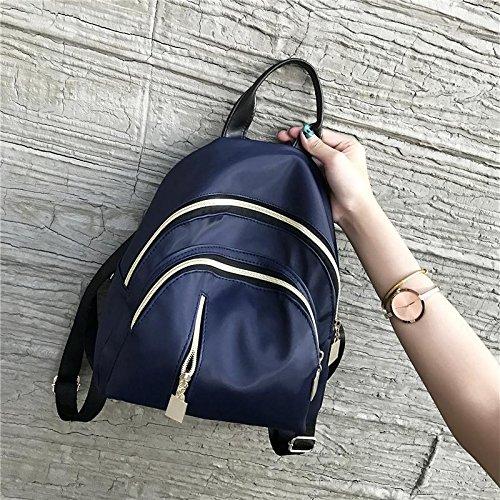 Sprnb Rucksack Persönlichkeit Alle-Match Freizeitaktivitäten Crossbody Sommer Kleine Tasche Blue