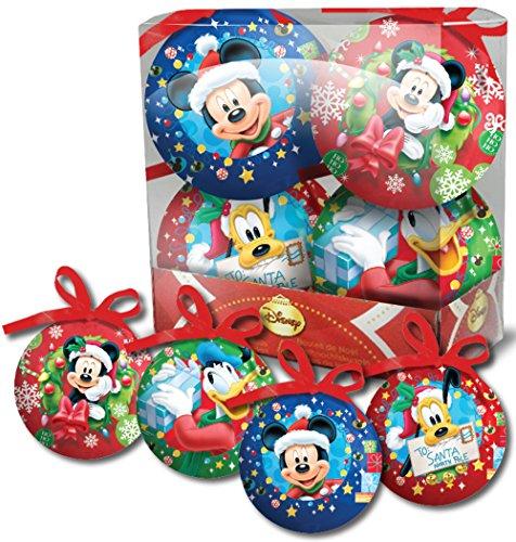 Addobbi Natalizi Disney.Mickey Disney Scatola 4 Palline Di Natale 6500