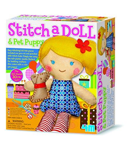 Kit per realizzare un bambola di pezza